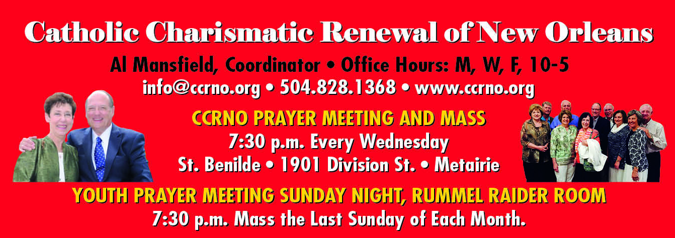 CCRNO - Hours and Weekly Prayer Meeting